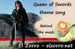 Queen of Swords theme song Behind the Mask