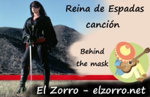 Reina de Espadas canción Behind the Mask
